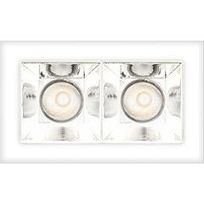 Image du produit 1: SHARP RECESSED TRIMLESS 2X 6W 930 FLOOD EXT.DRV + SCREEN 2X WHITE